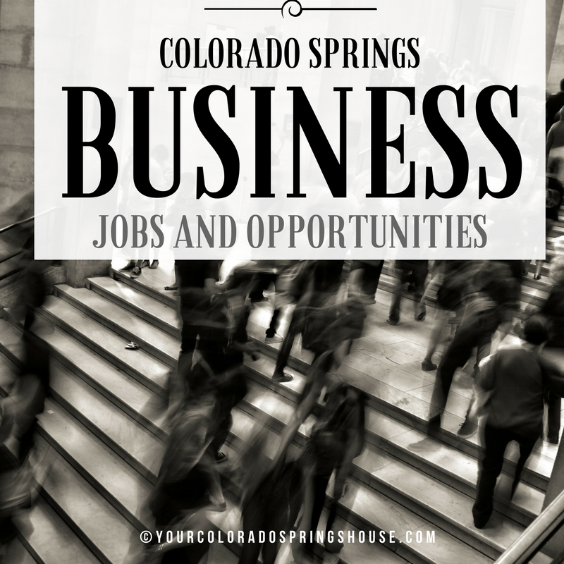 Colorado Springs Business and Job Opportunities | Colorado ...