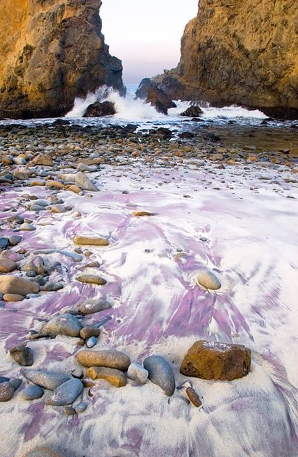 Purple Sand Beach, Pfeiffer, California