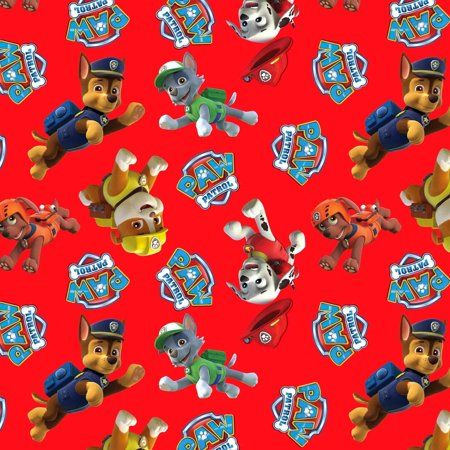 Paw Patrol Rescue AntiPill Polyester Fleece Fabric By The Yard, 60 inch, Blue - Paw patrol rescue, Paw patrol, Paw patrol pups, Paw, Arts crafts sewing, Nick jr paw patrol - Timeless and essential AntiPill Fleece prints in today's most popular designs, designed to coordinate perfectly with our antipill solids  Choose from classic and fashion designs for blankets, throws and warm wear  This fabric is easy care and easy sew  It is 100 percent polyester with a 60inch width  Sold by the yard, with orders for multiple yards sold in a continuous length up to 8 yards long  Please ensure selected swatch matches desired fabric color  Size 36 inch x 60 inch  Color Blue