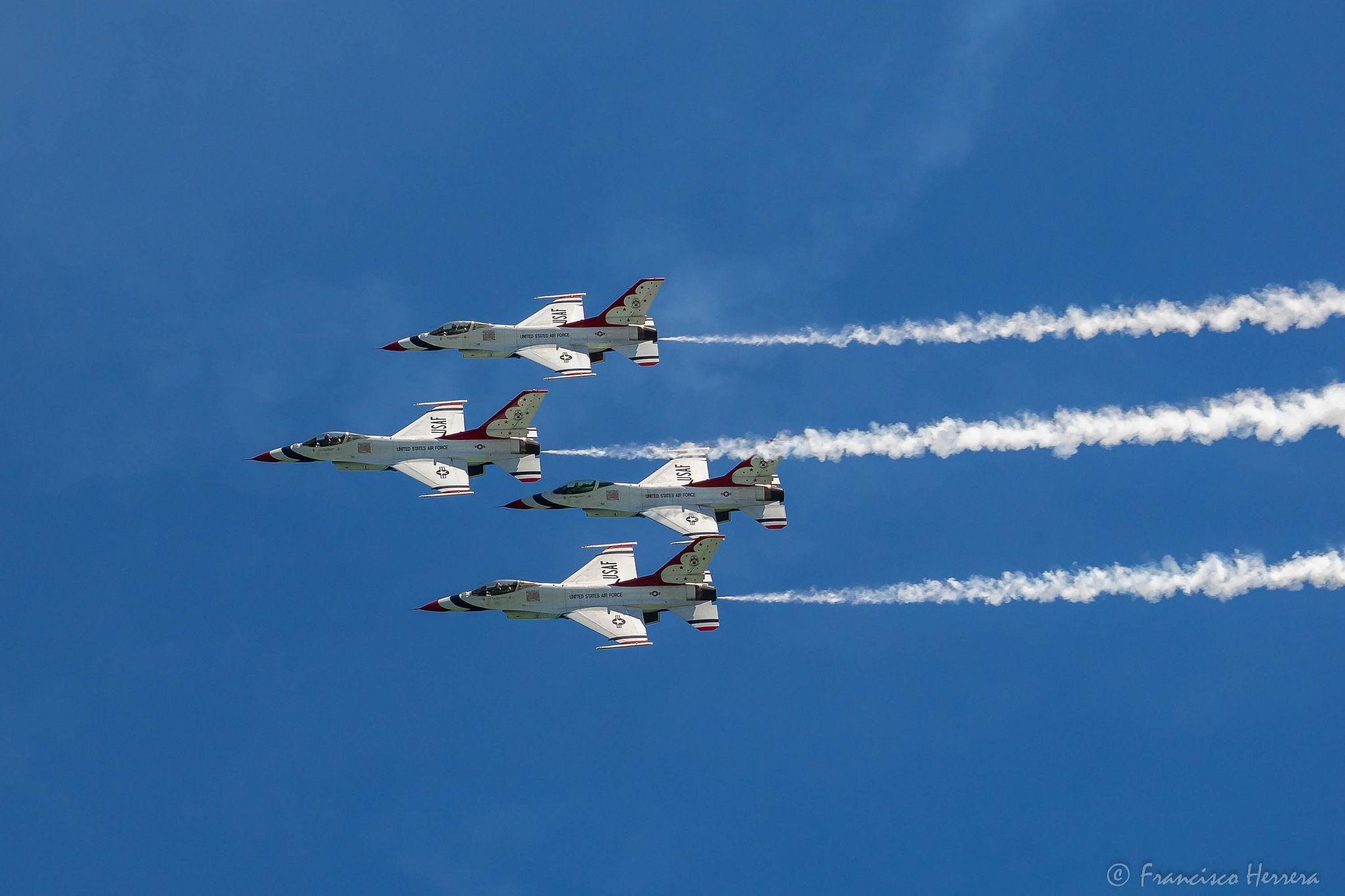 United States Air Force Thunderbirds Air force, Air show
