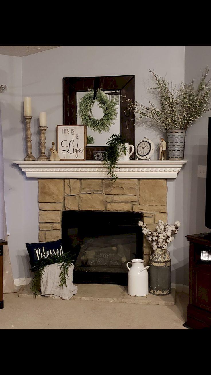 Photo of 80 Spectacular Christmas Fireplace Mantel Decoration Ideas – 80 Spectacular Chri…
