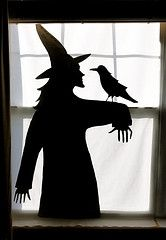 Martha Witch Silhouette Template Casa New