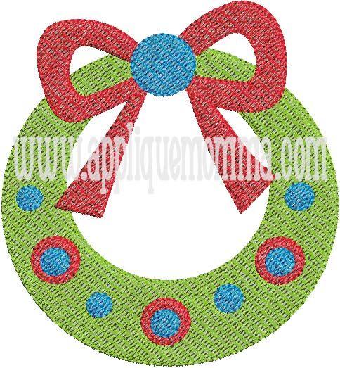 Wreath Mini Embroidery Design Mini Embroidery Designs Pinterest