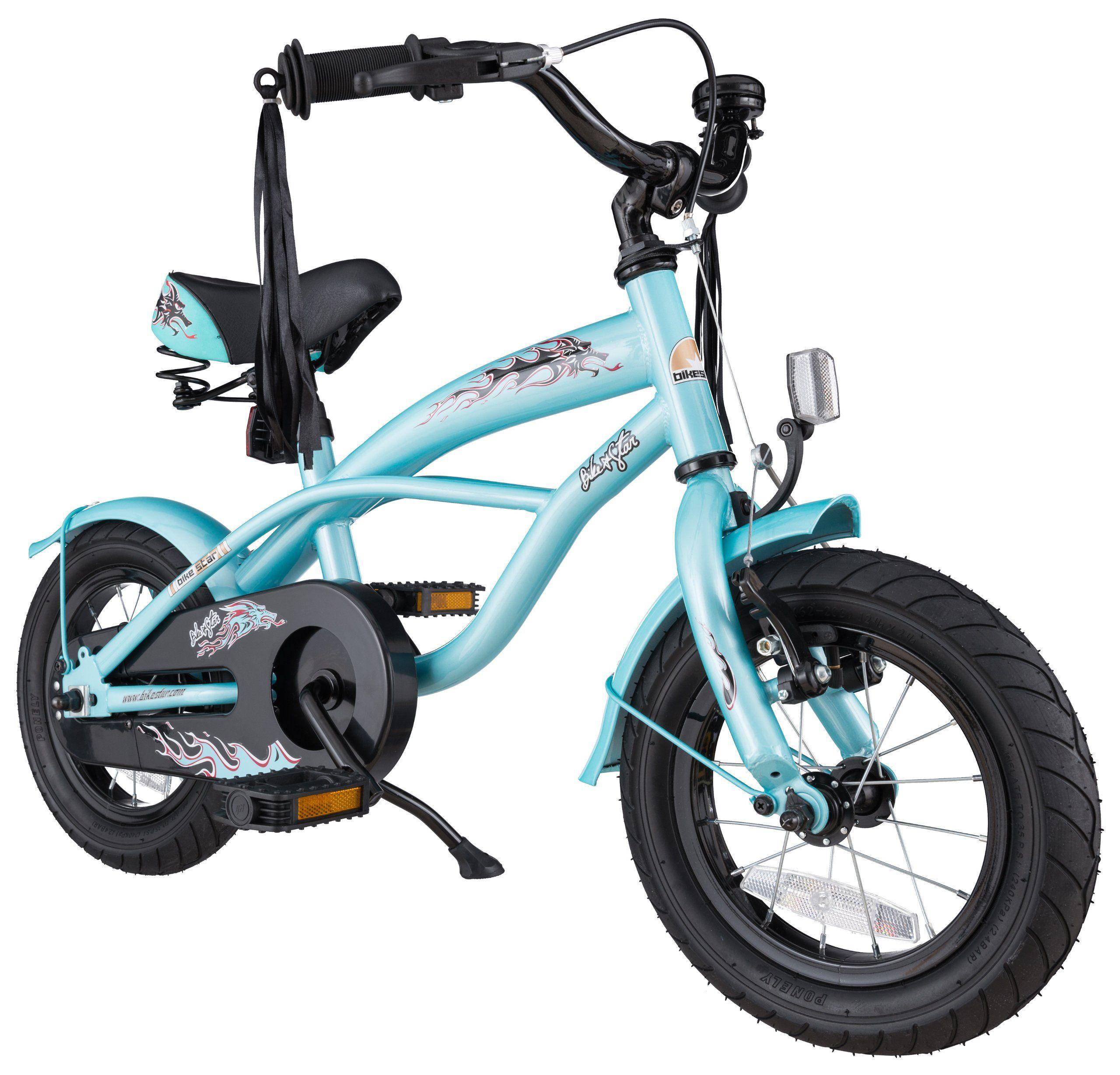 eeec46fada154 bike*star 30.5cm (12 pouces) Vélo pour enfants Cruiser - Couleur Bleu