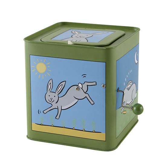 Bunny Jack in the Box from @The Land of Nod #LittleStyleEaster