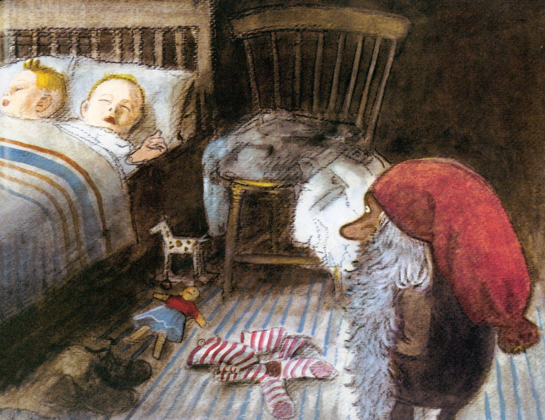 Tomte Tummetott By Astrid Lindgren Illustration By Harald Wiberg