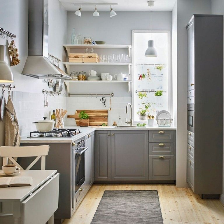 105 Awesome Tiny Kitchen Design Ideas And Remodel Page 62