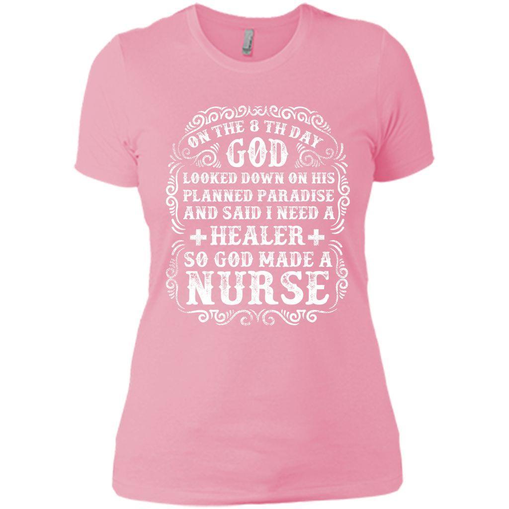 God made a Nurse T-Shirt