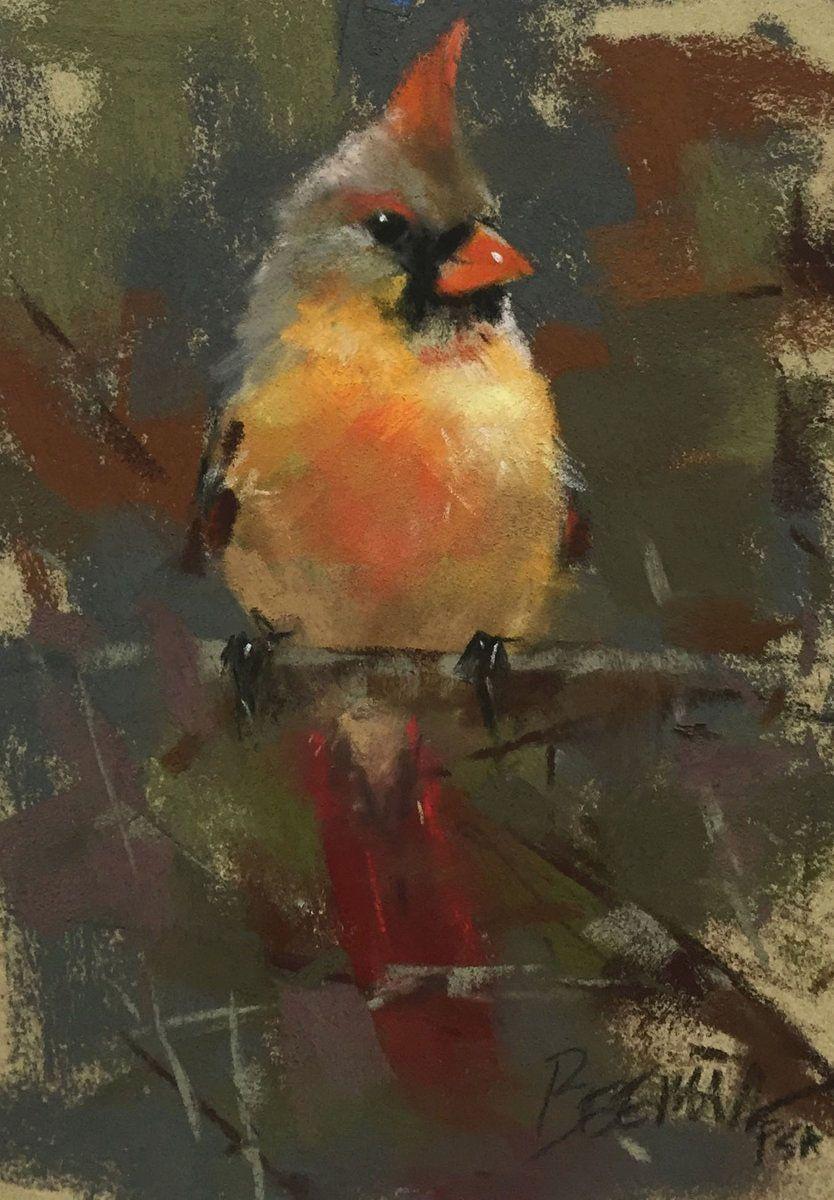 плавника-шверта птицы пастелью современных художников связывают