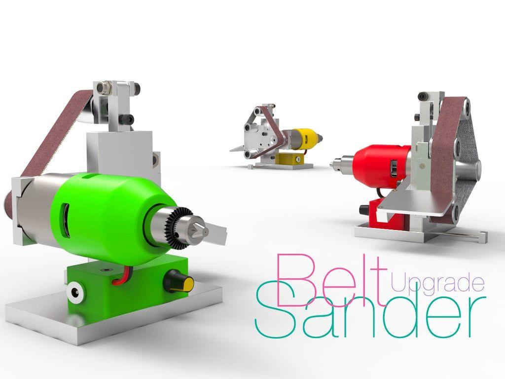 Belt sander upgrade in 2020 belt sander drill chucks