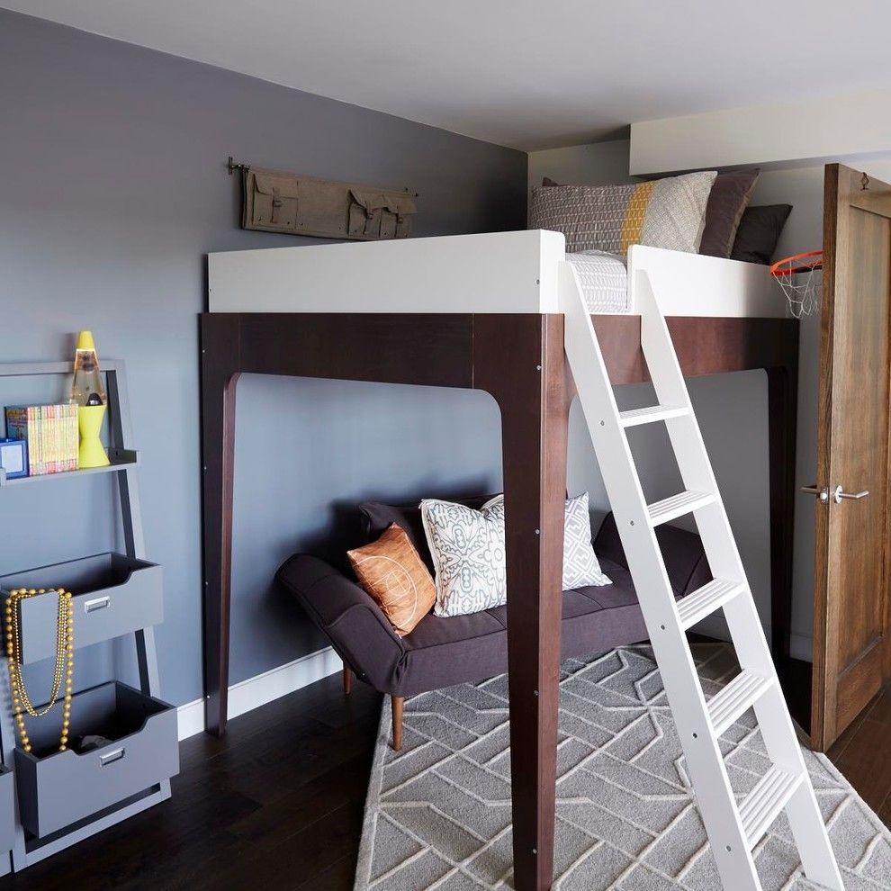 Hochbett selber bauen - die günstigste Entscheidung für Kinderzimmer ...
