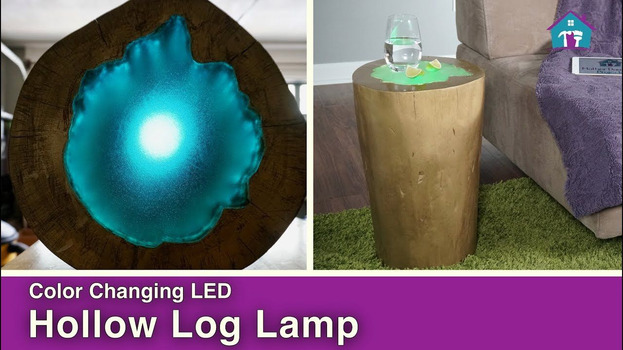 We found this hollow log in a tree pile and had to find a good use join vicki steph from mother daughter projects as they turn a hollow log into a unique led light for more details visit fyi we are not professionals solutioingenieria Images
