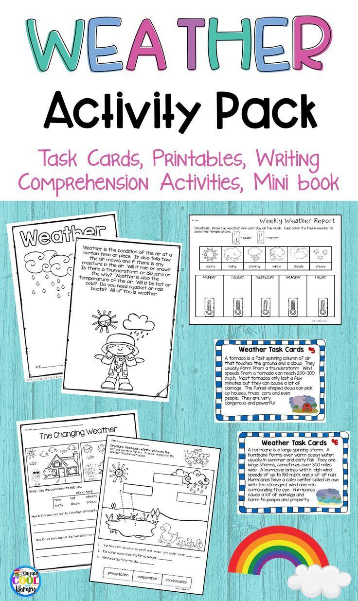 Weather Activities | Weather instruments, Comprehension questions ...