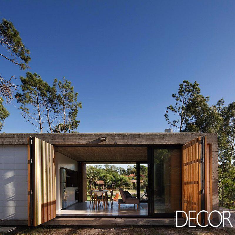 O Escritório MASA Arquitectos Assina O Projeto De Arquitetura Casa Marindia  Que Mescla Concreto, Madeira