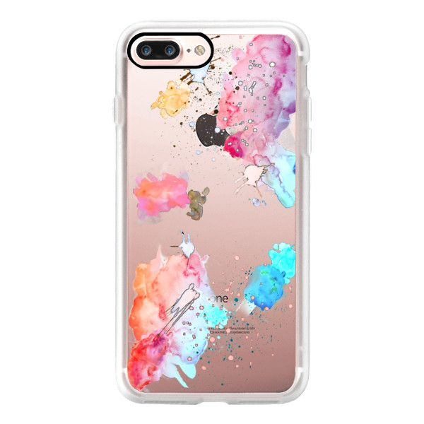 HAPPY GRAVITY RAINBOW by Monika Strigel Mint Standard for Rosegold -... (£32) ❤ liked on Polyvore featuring accessories, tech accessories, iphone case, mint green iphone case, iphone hard case, apple iphone case, rainbow iphone case and rose gold iphone case