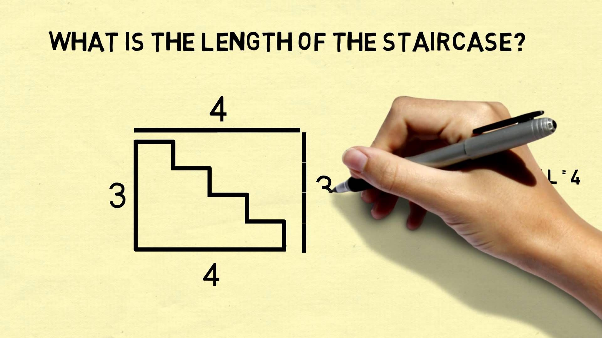 Is The Pythagorean Theorem Wrong The Staircase Paradox Says It Is This Week S Monday Puzzle Is In The Form Of A Pythagorean Theorem Theorems Math Worksheets [ 1080 x 1920 Pixel ]