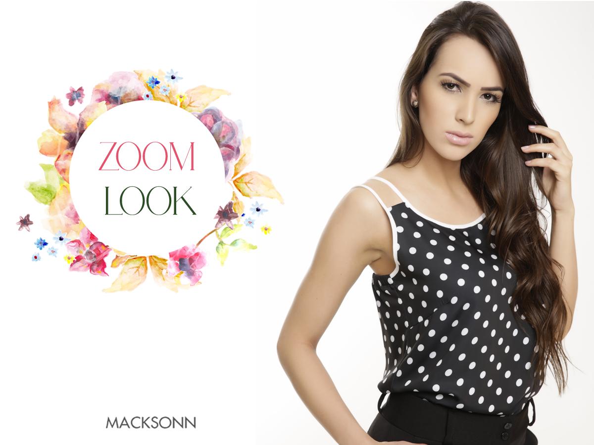 Gosta de poa? Se sim, a Macksonn traz essa linda blusinha para encantar seu dia! Vem numa de nossas lojas mais próxima de você e confira as novidades super trends da marca!