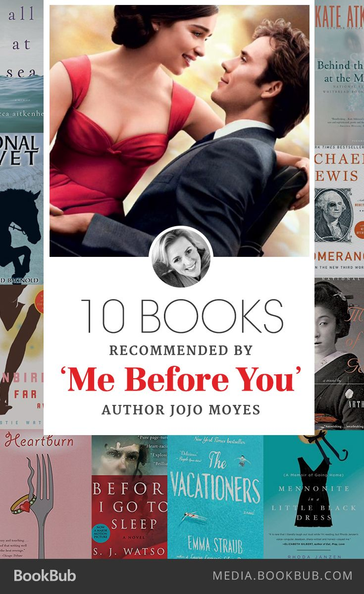 10 Books Recommended by Jojo Moyes is part of Books to read, Enough book, Good books, Jojo moyes books, Book tv, Books - The 'Me Before You' author reads a wide variety of books