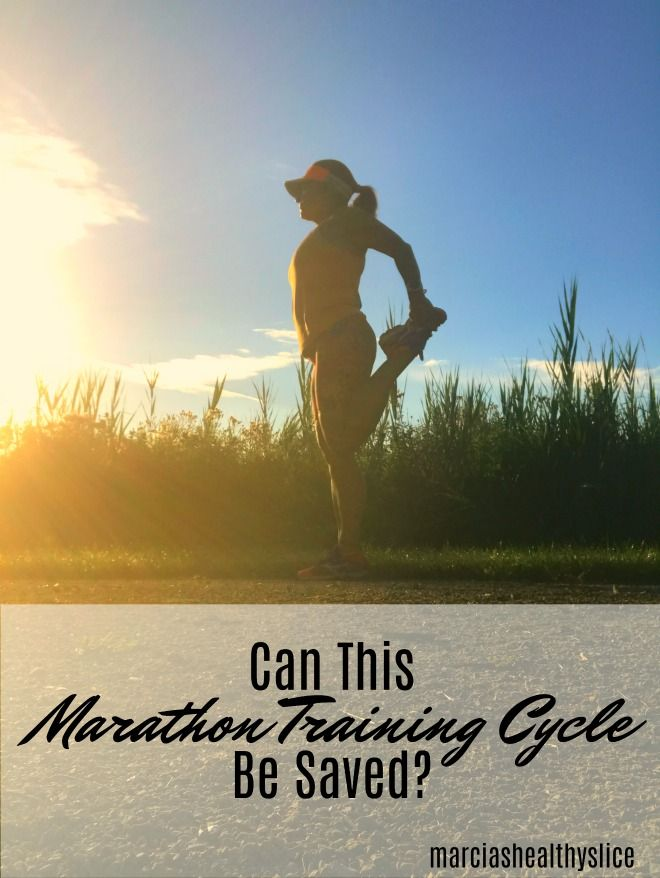 Can This Marathon Training Cycle Be Saved? What to do when you miss - training report