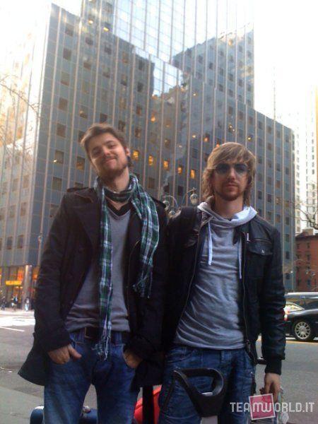 diego y luca en la ciudad de new york