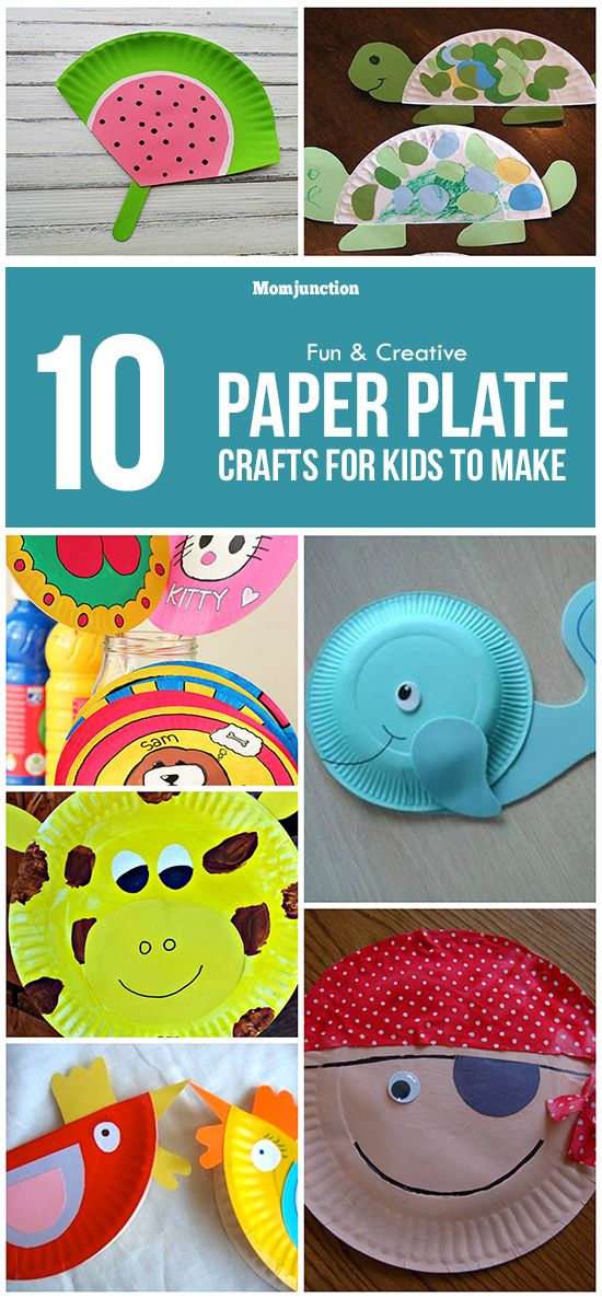 10 Easy And Exciting Plate Craft Ideas For Kids  sc 1 st  Pinterest & 10 Easy And Exciting Plate Craft Ideas For Kids | Paper plate crafts ...