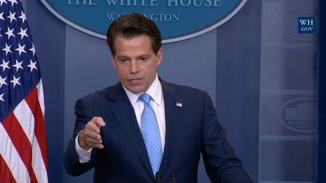 "Former White House communications director Anthony Scaramucci said on Sunday that President Trump should have had a ""much harsher"" message for white supremacists."