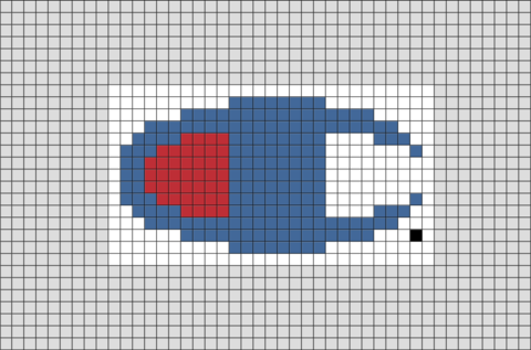 Champion Pixel Art Pixel Art Grid Pixel Art Perler Bead Art