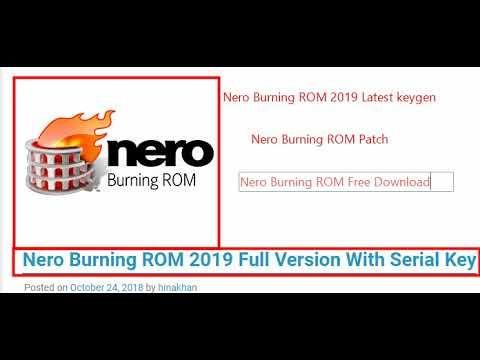 nero burning rom free download full version for windows 10