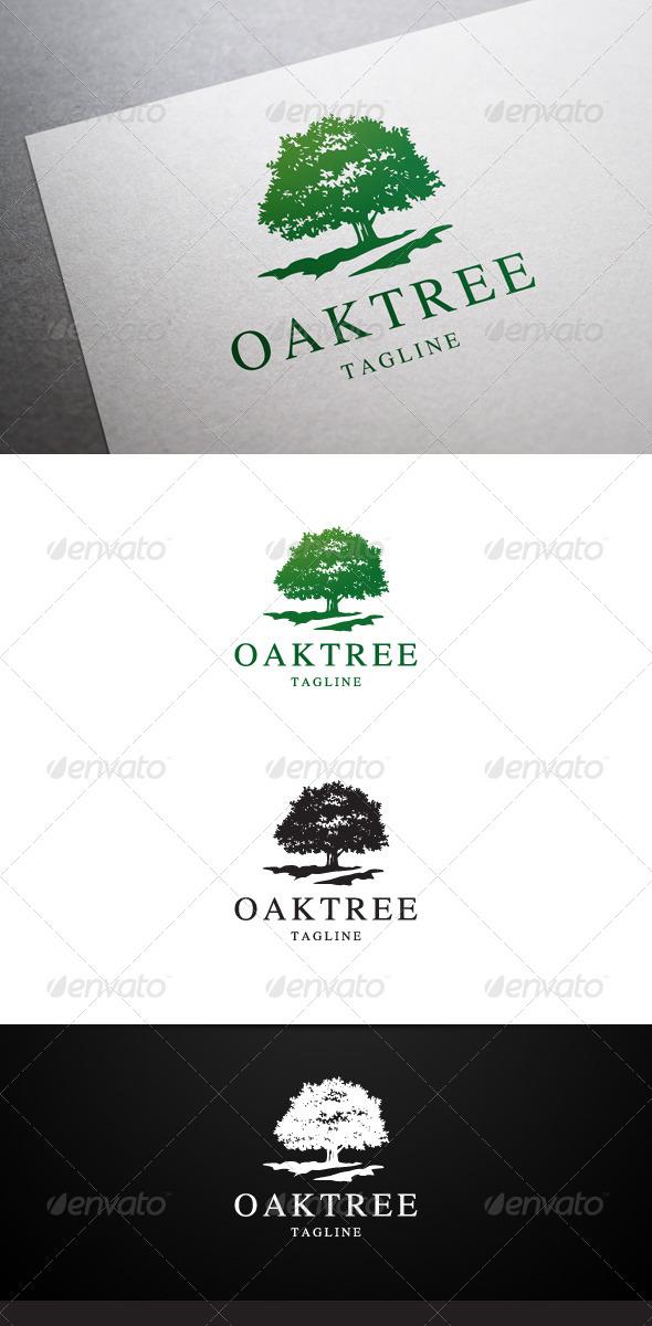 Oak Tree Logo | Nature logos, Tree logos and Oak tree