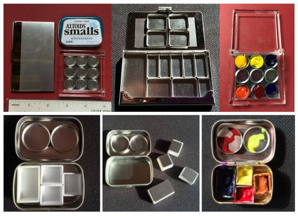 Photo Of Chris Carter S Pocket Painter Magnetic Palettes With
