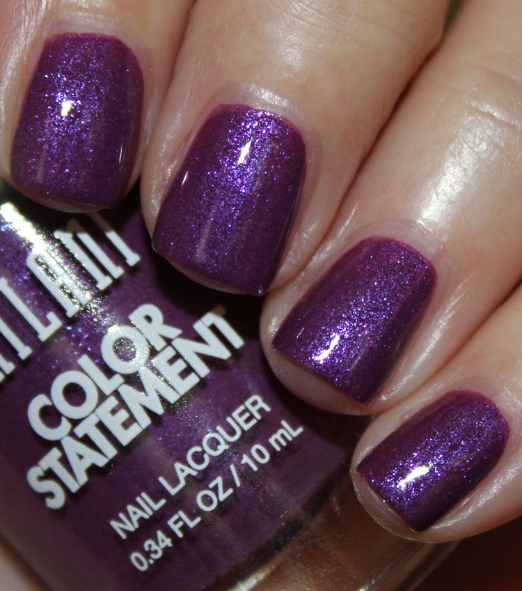 Milani Color Statement Nail Lacquer Ultra Violet   Tinted   Pinterest