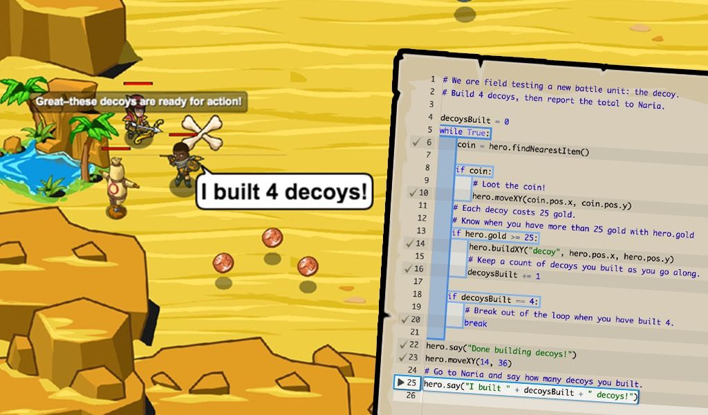 Codecombat Learn To Code By Playing A Game Coding Games Coding Learn To Code