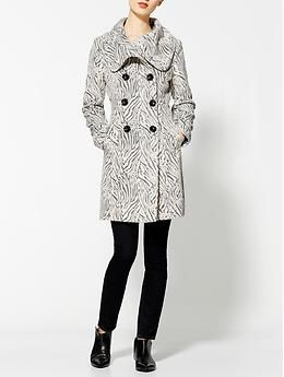 Sabine The Attic Jacket | Piperlime    Love adding animal print to a traditional Audrey Hepurn-esque style