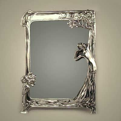 art nouveau miroir for the home pinterest miroirs art nouveau et glace. Black Bedroom Furniture Sets. Home Design Ideas