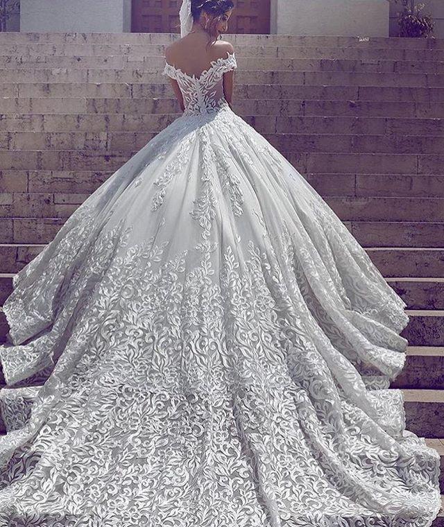 Que sonho ❤ | Moda | Pinterest | Wedding, Wedding dress and Gowns
