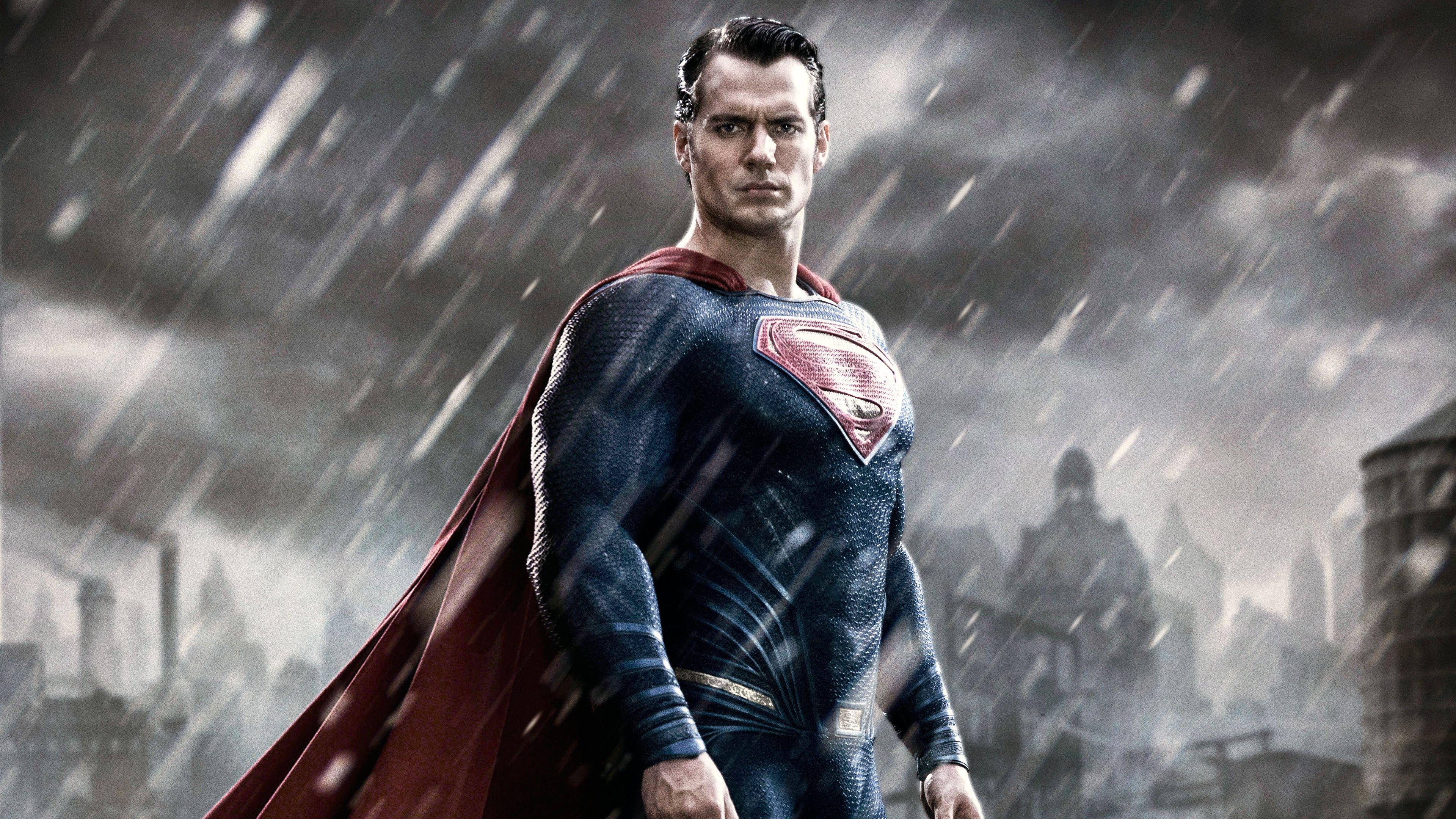Superman 4K Wallpaper WallpaperSafari Бэтмен против
