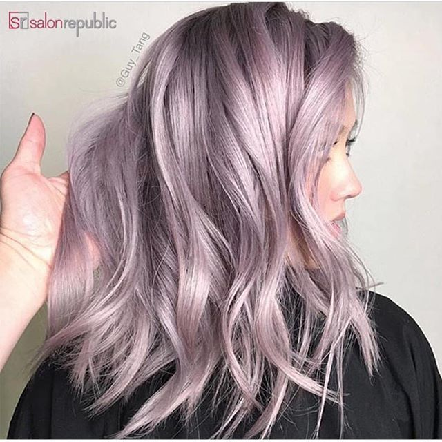 Metallic Lilac Pink Hair Painting By Guytang Hotonbeauty Just