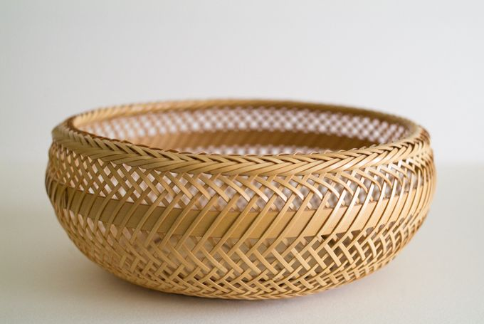 鉄鉢 盛りかご を再考する 第2回 かたちがみえてきました Bros Blog 竹工芸品 かご 竹