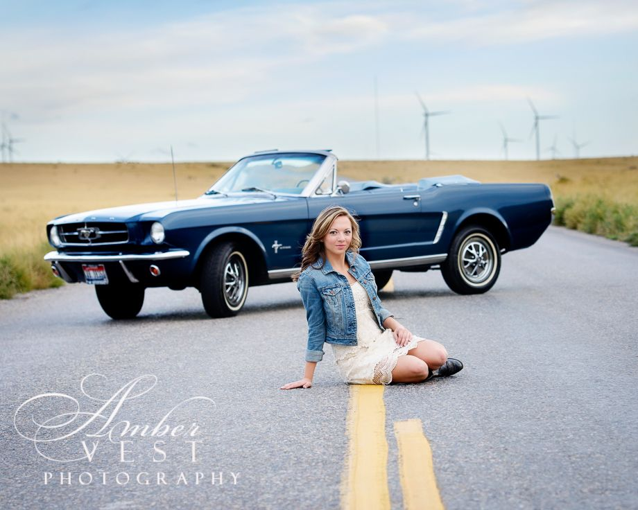 Senior Pictures With Mustang Ambervestphotography Com With Images Girl Senior Pictures Car Senior Pictures Senior Photos Girls