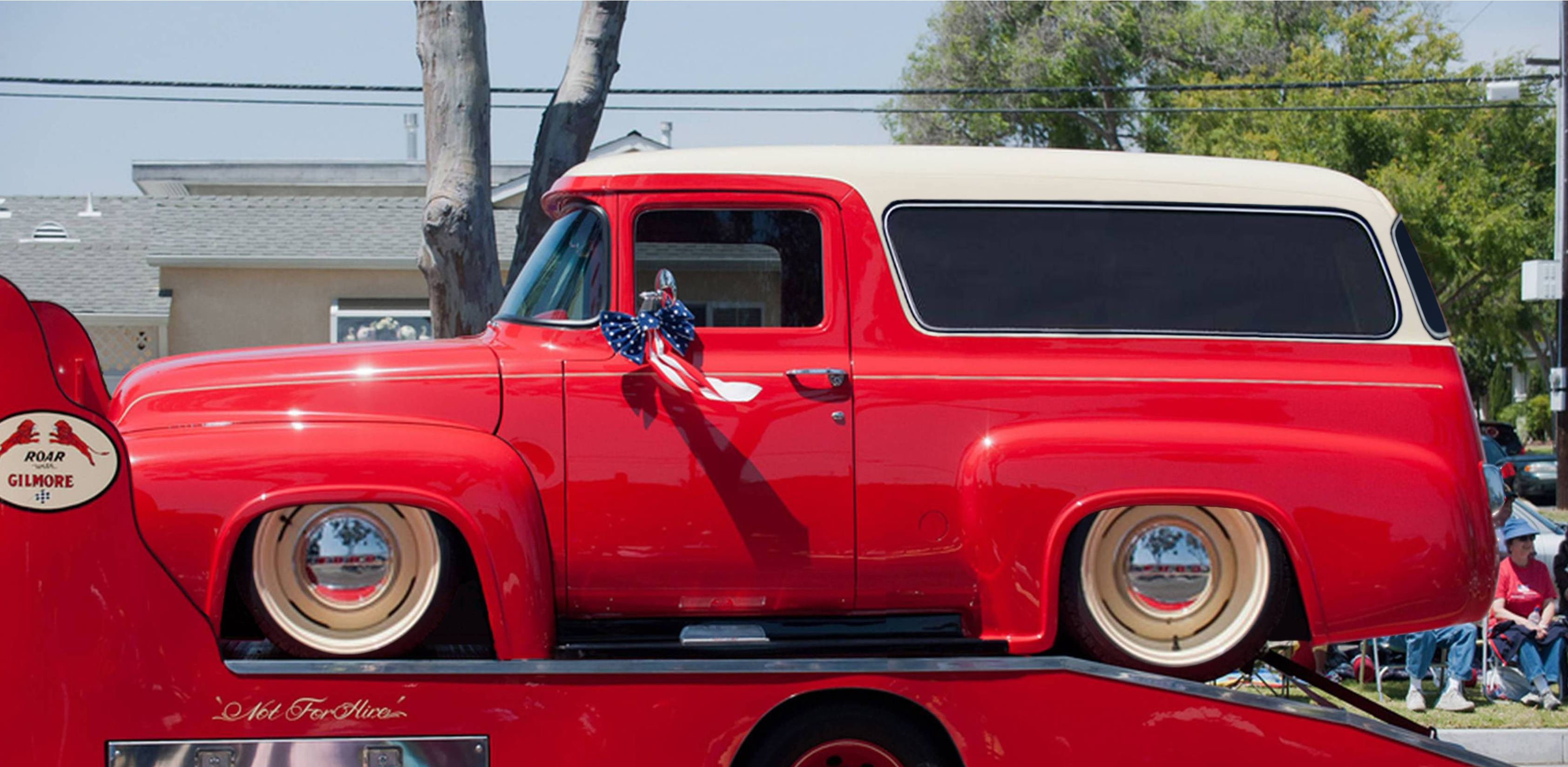 1956 F100 Bronco Panel Truck Classic Cars Trucks Hot Rods 1956 Ford Truck