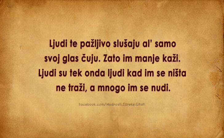 Misli ljubavi lijepe o Ivo Andrić