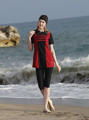 612ea1577e Adabkini Gul Pool/gym Wear, Girls Swimming Wear, Half-covered Swimwear, Sun  Suit