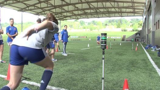 France Feminines Preparation Coupe Du Monde Coupe Du Monde Rugby Feminin Equipe De France Feminine