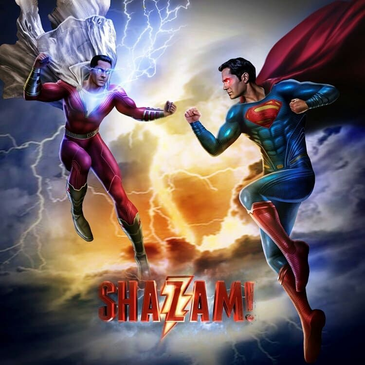 #shazam #superman #henrycavill By Gabriel Rock