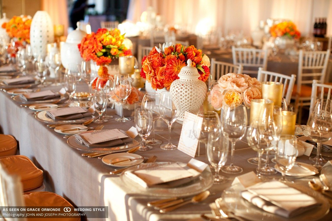 From Kente To Palettes Orange And White Wedding Inspiration I Do