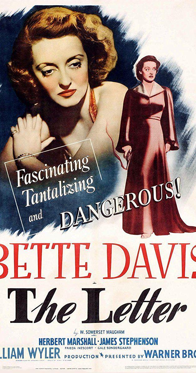 The Letter (1940)   IMDb | Alligators | 포스터, 레이아웃