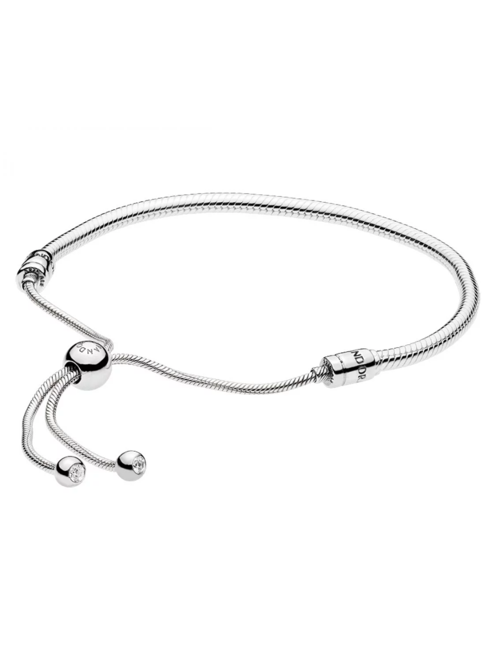 PANDORA 597125CZ Armband Moments Silver Sliding | Pandora armband ...