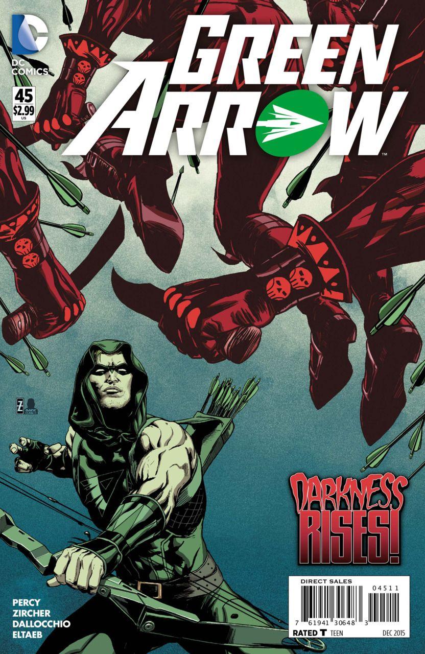 Green Arrow #45 - The Bone Hunters (Issue)