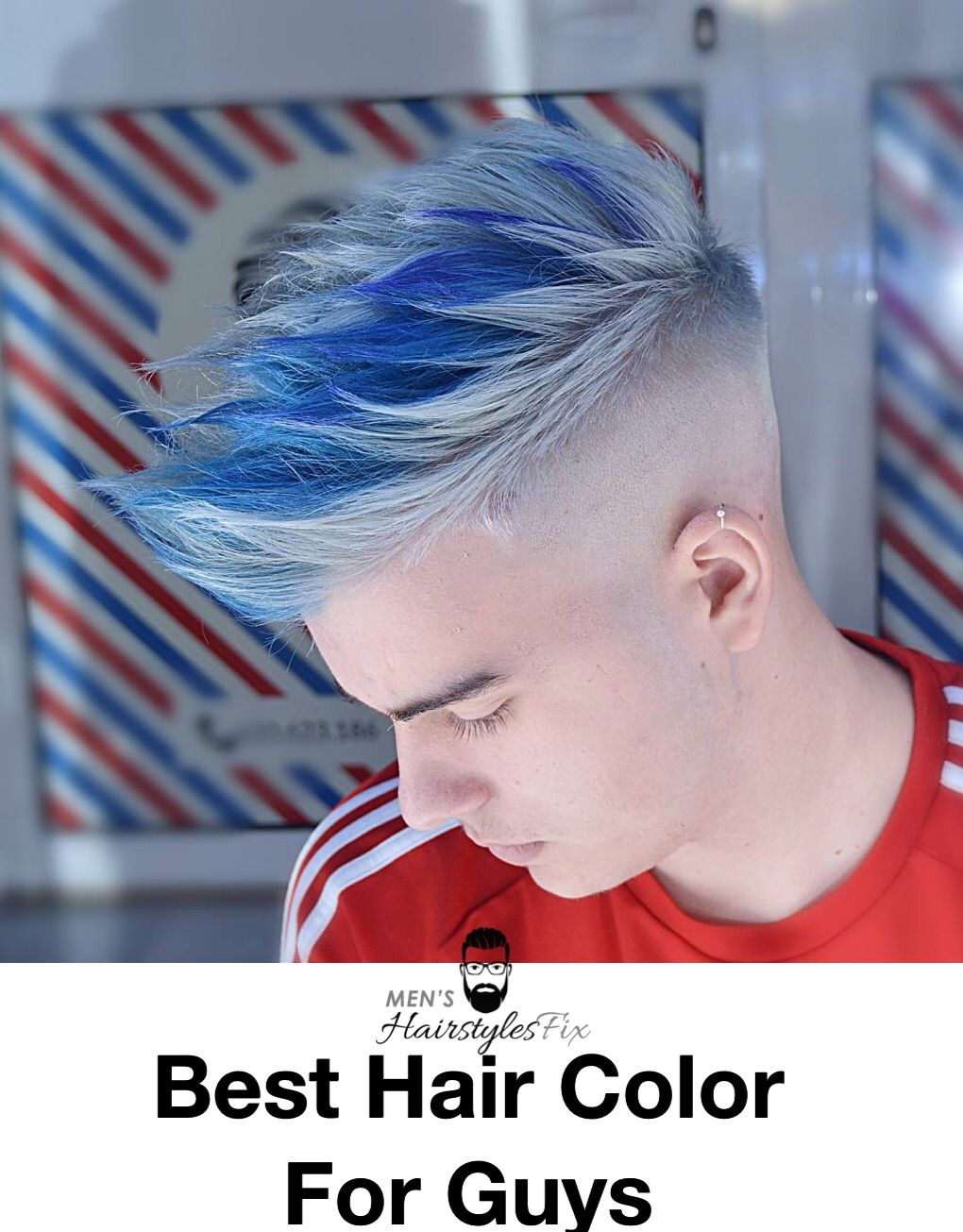 20 Best Hair Color For Guys In 2018 Men S Hairstyles Boys Colored Hair Cool Hair Color Men Hair Color
