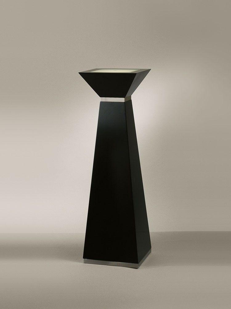 Casual, Contemporary, Modern Square Tall Pedestal by NOVA Lighting - Viral Decor